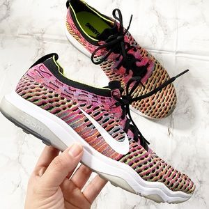 Nike Zoom Women's Multi Color Athletic Shoes 8